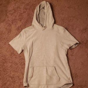 Short Sleeve T-Shirt Hoodie